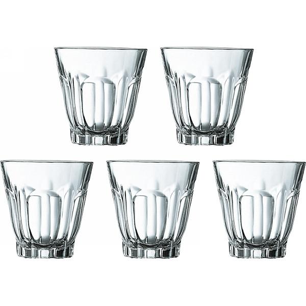 リュミナルク アルカド グラス5個セット アルカド ガラス製品 ガラスカップ タンブラーセット LG272(代引不可)