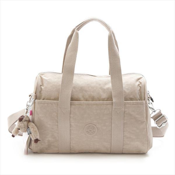 Kipling Kipling K15294 97 W PRACTI COOL Caffe Latte N 2way mini Boston bag