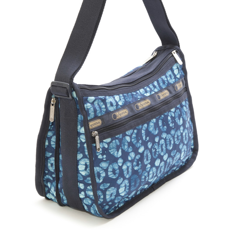 没有LeSportsac的端口套子7507-D578 Deluxe Everyday Bag(高级每天包)Tulum/挎包