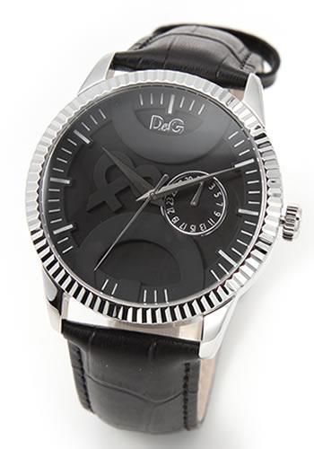 【お気に入り】 ディーアンドジー メンズ 腕時計 D&G Time 文字盤に大胆にD&Gロゴをあしらったメンズ・レザーストラップウオッチ DW0696【送料無料】, アウトドアショップ遊星舎 c4c01d3e