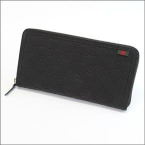5b0d55665da Gucci loverguccishima Web loop with large zip around wallet Passport   travel  document case black  2014 AW» 295833 AF66N1060