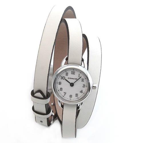 春夏新作 コーチ 3ラップ・ストラップ。小ぶりでフェミニンなレディス腕時計 14501980【送料無料】, 品質は非常に良い 689d6f33