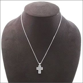 dae11323f5 ... Swarovski Cross Mini Pendant cross Crystal pave pendant necklace  5020060 ...