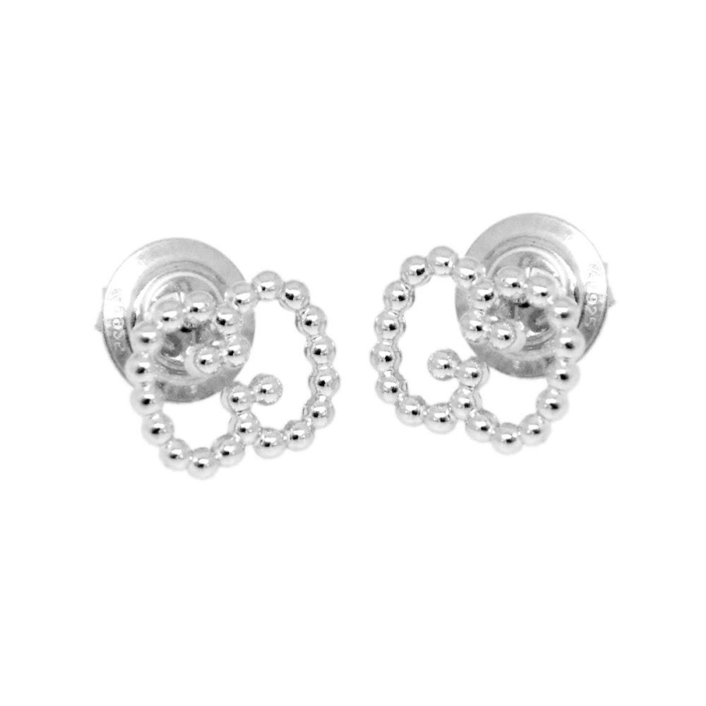 Gucci Ybd390995001 Double G Ball Stud Earrings