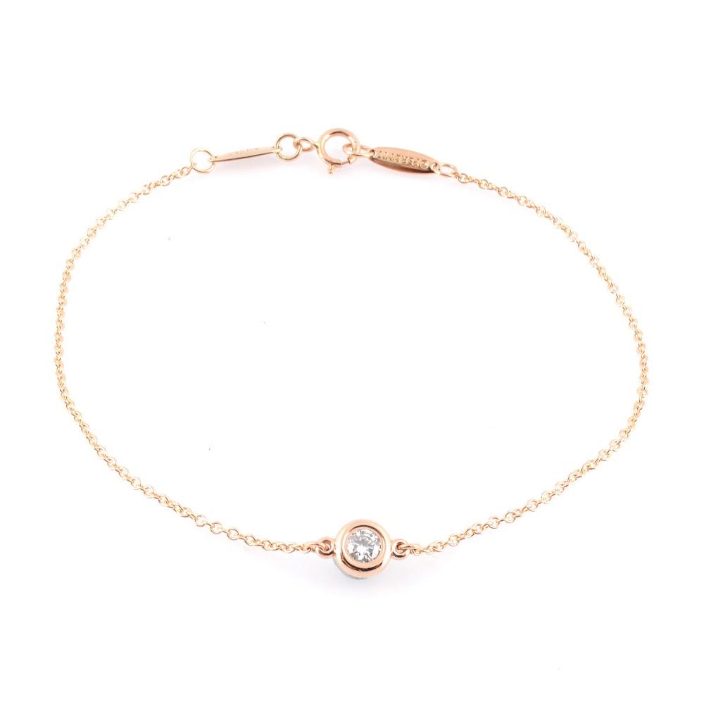 ティファニー Tiffany&CO 33943423 エルサ・ペレッティ ダイヤモンド バイ ザ ヤード ブレスレット 0.10ct 18KRG【送料無料】