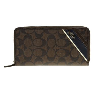 size 40 10ea4 0ffb4 COACH coach 74255 SMABR long Bill ( roundfisner ) wallet Womens