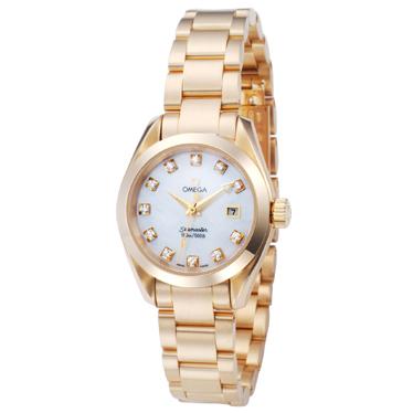 当店の記念日 オメガ OMEGA 腕時計 シーマスターアクアテラ 2177.75 レディース 【送料無料】, WEBスポーツ 73599c19