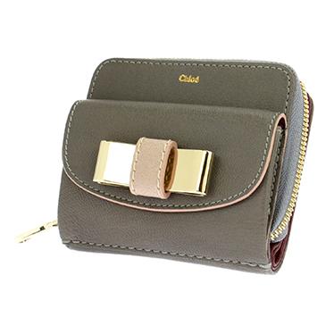 designer fashion 81794 60912 CHLOE クロエ 3P0503-753/06T 二つ折りファスナー付財布 (代引き不可)【送料無料】|リコメン堂ファッション館