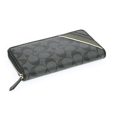 finest selection e68de a0d09 COACH coach 74255 BK/CQ long Bill ( roundfisner ) ladies wallet