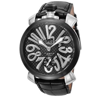 GAGA ガガ ミラノ マニュアーレ48mm 5013.01S-BLK 腕時計 メンズ【送料無料】