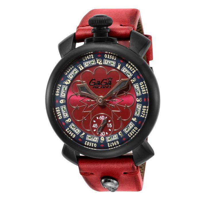 GaGaMILAN ガガミラノ 5012LV02-RED ブランド 時計 腕時計 メンズ 誕生日 プレゼント ギフト カップル()【送料無料】