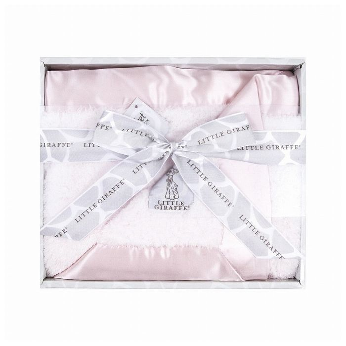 LITTLE GIRAFFE リトルジラフ シェニールベビーブランケット ピンク CON-LG-12631【送料無料】