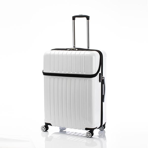 キャリーバッグ Lサイズ 7日間 87L トップオープン ジッパーハード トップス スーツケース 旅行 カバン 大容量(代引不可)【送料無料】【int_d11】