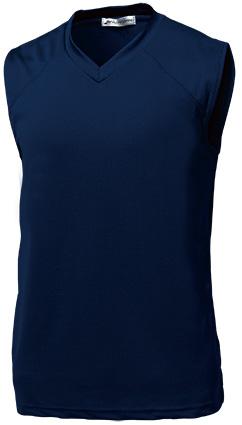 <title>ベーシックバスケシャツ P-1810 130~150サイズ 当店限定販売 ネイビー</title>