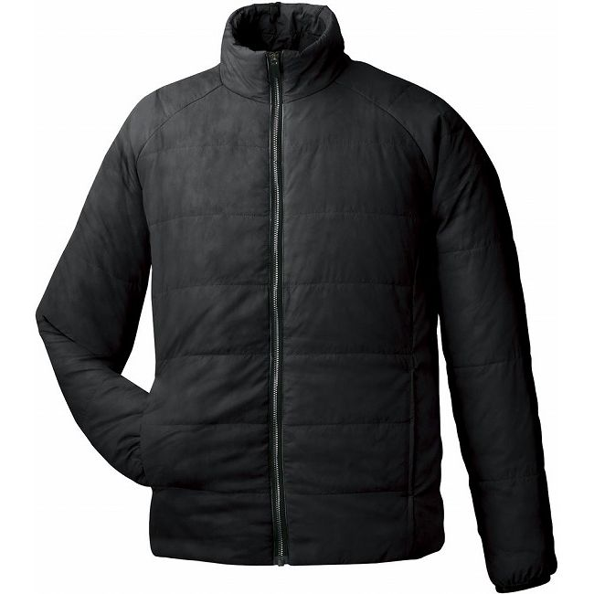 GOSEN(ゴーセン) アイダーウォームスジャケット Y1612 【カラー】ブラック 【サイズ】M【送料無料】