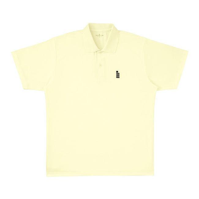 <title>GOSEN ゴーセン T1308ユニ1Pポロシャツ 全店販売中 T1308 カラー ライトイエロー サイズ SS</title>