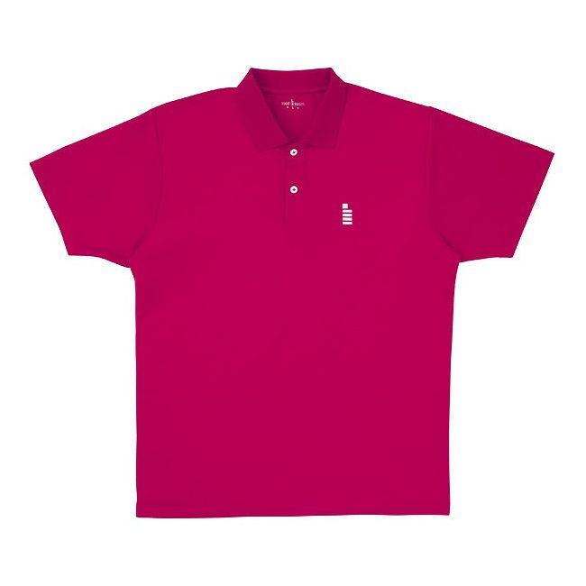 <title>GOSEN ゴーセン T1308ユニ1Pポロシャツ T1308 カラー ルビーレッド 永遠の定番モデル サイズ LL</title>