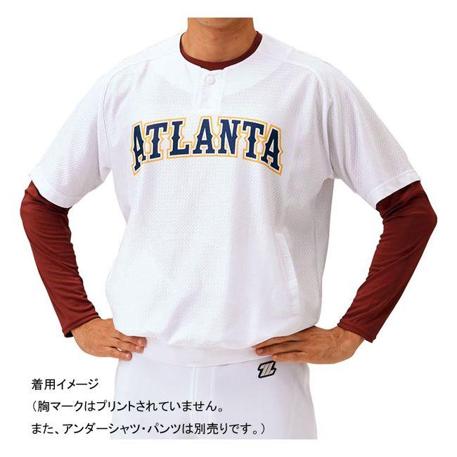 送料無料 ZETT ゼット レイヤーシャツ BLS1000 ホワイト 着後レビューで 送料無料 S カラー 大決算セール サイズ
