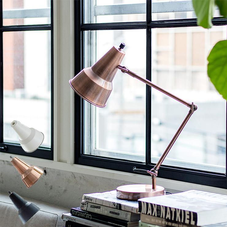 ARMA アルマ デスクライト LED電球付き ARMA R DL1-01 明るさ調整 電波式リモコン付 間接照明 ライト(代引不可)【送料無料】