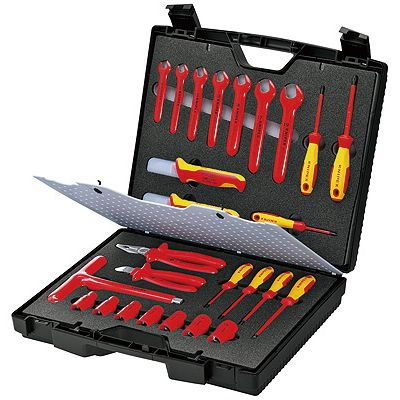 KNIPEX(クニペックス) 989912 絶縁工具セット【送料無料】