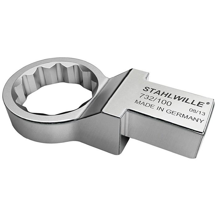 STAHLWILLE(スタビレー) 732/100-50 トルクレンチ差替ヘッド メガネ(58221050)(代引不可)【送料無料】