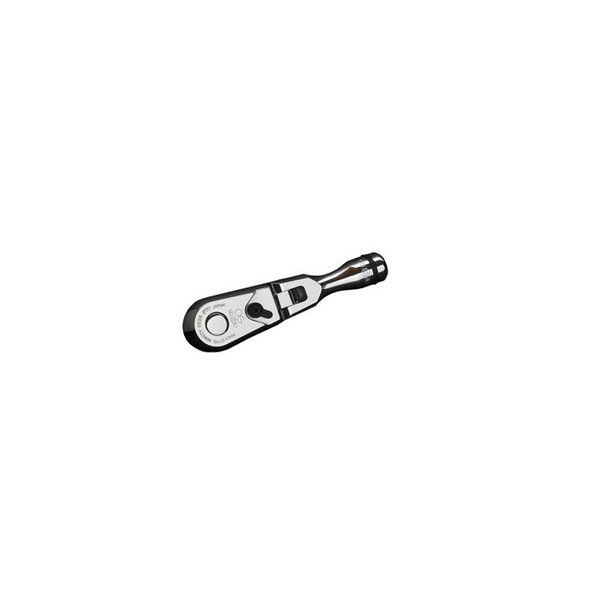 KTCネプロス NBR390FS (9.5SQ) ショートフレックスラチェットハンドル(代引不可)【送料無料】
