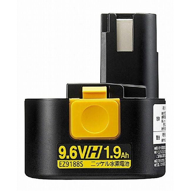 パナソニック EZ9188S ニッケル水素電池パック Hタイプ 9.6V(代引不可)【送料無料】