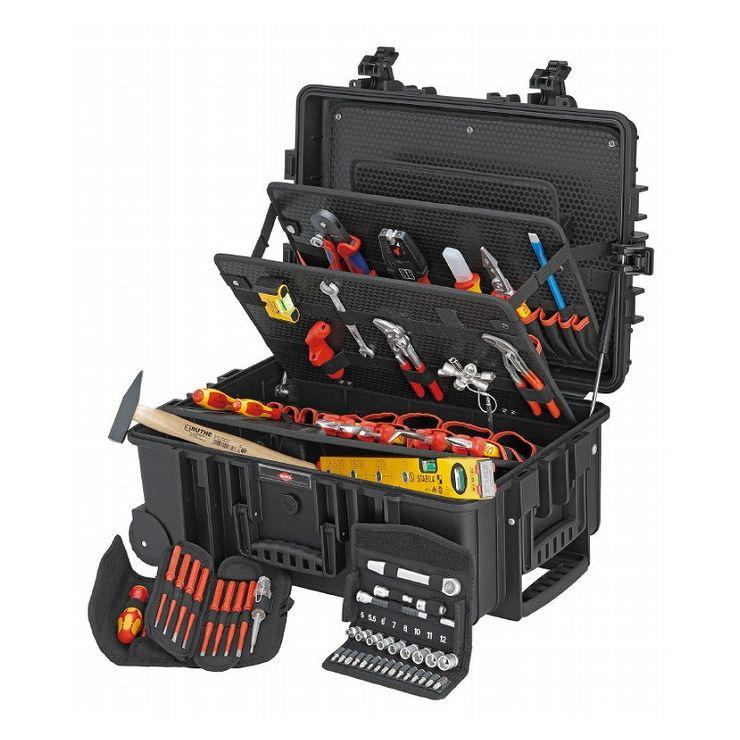 KNIPEX クニペックス 002137 電気技師用ツールセット 63PCE(代引不可)【送料無料】