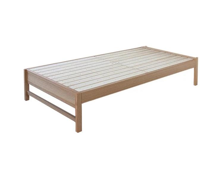 ベッド シングル フレーム タモ材すのこベッド SOLID ソリッド フレームのみ シングル(代引不可)【送料無料】