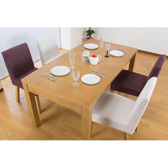 伸長式ダイニングテーブル JF-6150DT 木製 テーブル(代引不可)【送料無料】