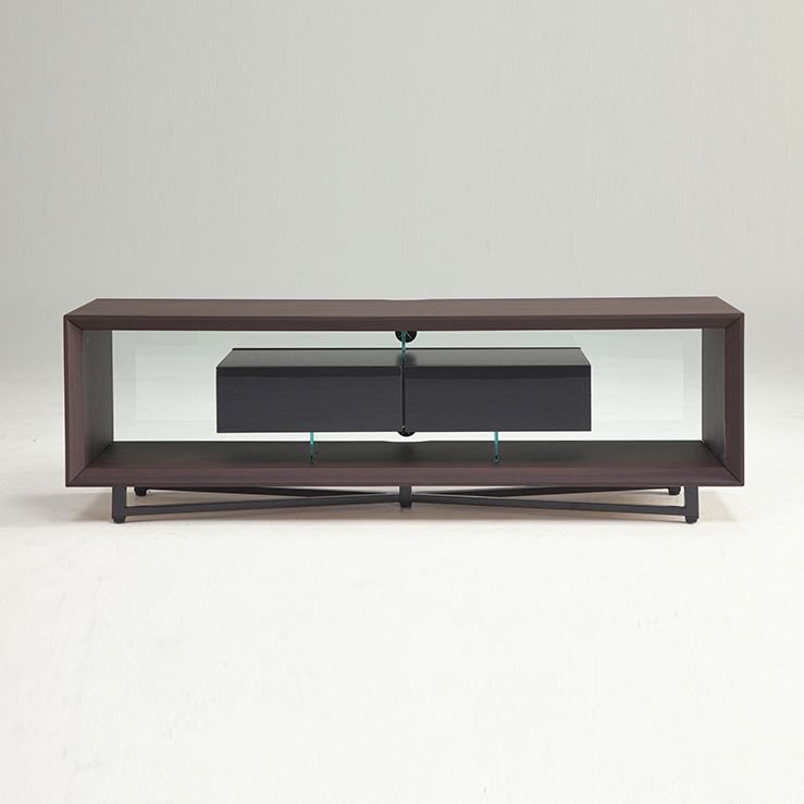 デザインテレビボード 幅160cm 160ローボード 完成品 モダン 北欧 木製 おしゃれ 新生活 一人暮らし TV台 TVボード(代引不可)【送料無料】