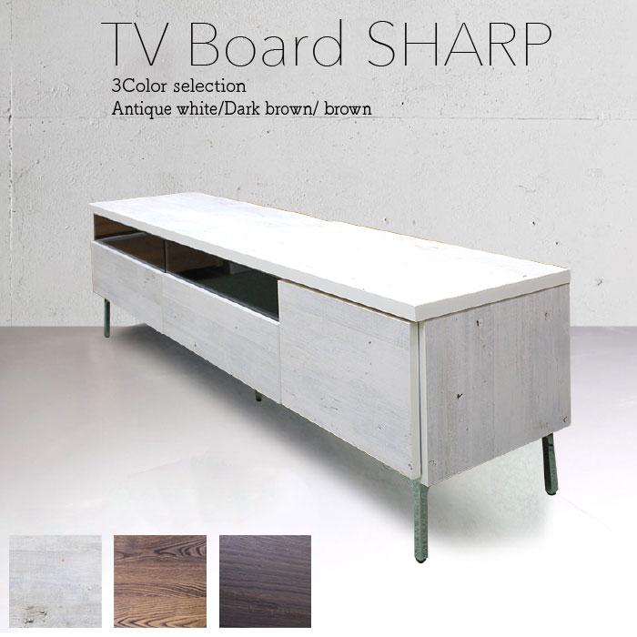 テレビ台 テレビボード 幅160 国産 完成品 木製 ローボード リビング収納 アイアン 日本製 スリムタイプ(代引不可)【送料無料】【S1】