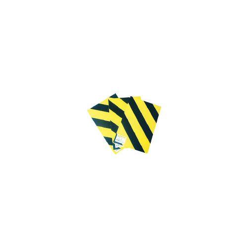 日東エルマテ トラベニヤ 黄/黒 900mmX2m (10枚入) YB36(代引き不可)【送料無料】