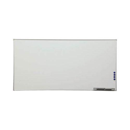 IRIS アルミホワイトボード 1800×900×21 AWB918(代引き不可)【送料無料】