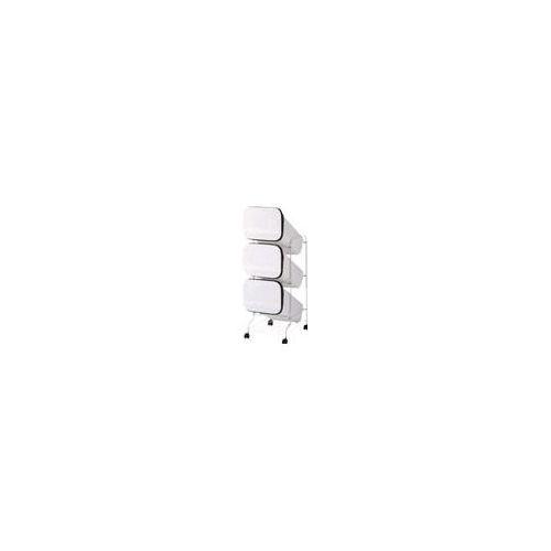 リス スムーススタンドダストボックス3Pホワイト GBBH001(代引き不可)【送料無料】