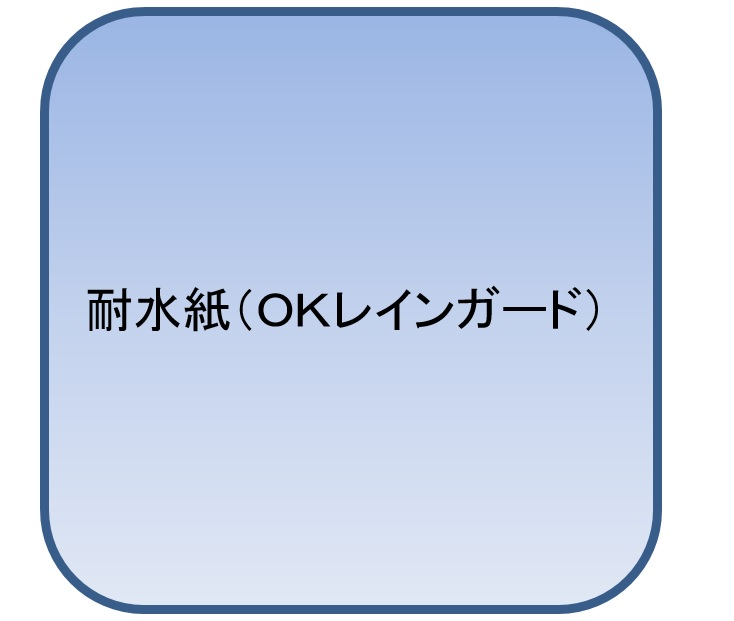 OKレインガード A3 T 104.7g(90kg 1000枚パック 1枚あたり19.4円)(代引不可)【送料無料】