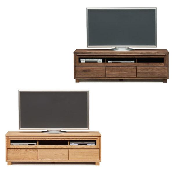 【国産 大川家具 完成品】 TVボード 幅153cm 木目 木製 テレビ台 テレビボード (代引不可)【送料無料】