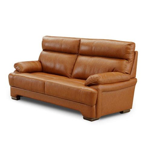 ソファ sofa 2P 2人掛け 2人用 リビング 革張り 応接 開梱設置無料 おしゃれ 完成品(代引不可)【送料無料】