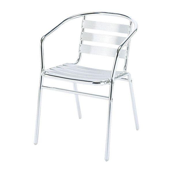 ガーデン チェア アルミ製 クーポス 肘付き アルミアーム 完成品 ガーデンファニチャー ガーデンチェア 椅子(代引不可)【送料無料】【S1】