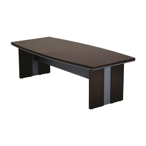 役員室家具 会議テーブル 2411 役員室 会議テーブル 240×110cm テーブル ミーティング 机(代引不可)【送料無料】