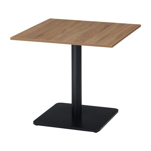 古木柄 カフェテーブル 7575 角型 75×75cm RGカフェテーブル テーブル 机 カフェ(代引不可)【送料無料】【S1】