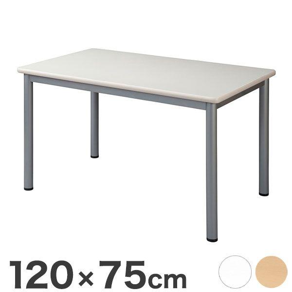 ミーティングテーブル 120×75cm 会議用テーブル 会議テーブル 会議机 会議デスク テーブル 打ち合わせ 商談(代引不可)【送料無料】