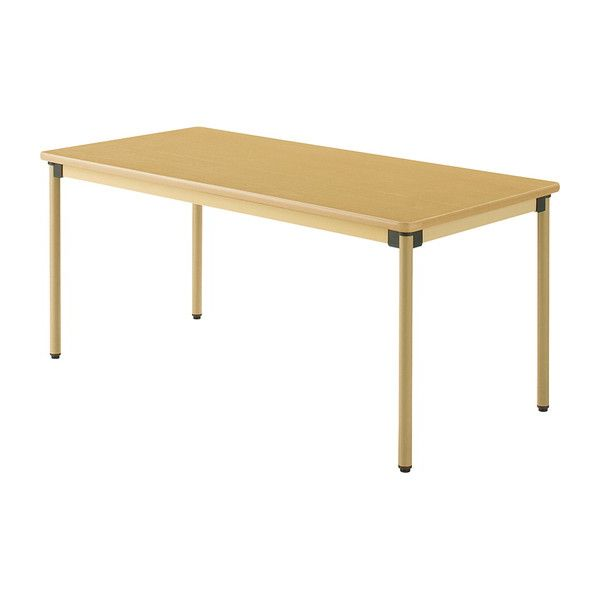 テーブル 160×75cm オールラウンドテーブル 福祉介護用 机 テーブル(代引不可)【送料無料】