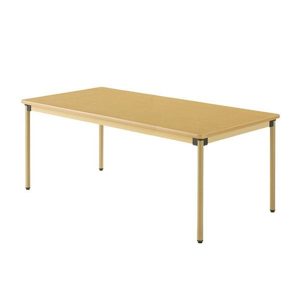 テーブル 180×90cm オールラウンドテーブル 福祉介護用 机 テーブル(代引不可)【送料無料】