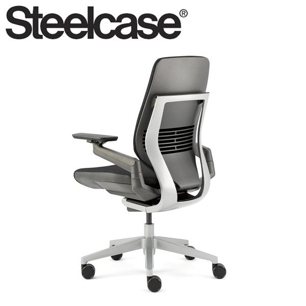 【Steelcase】 スチールケース ジェスチャーチェア シェルバック ダーク/ライト リコリス 5S26 デスクチェア(代引不可)【送料無料】