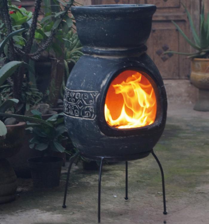 チムニー ガーデンストーブ メキシコ製 MCH8880 BBQ ホームパーティー 窯【送料無料】