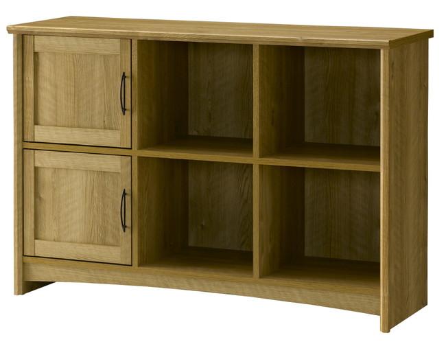 キャビネット 収納 リビング収納 チェスト 木製 木製 カントリー デザイン 北欧 ストッカー ナチュラル(代引不可)【送料無料】