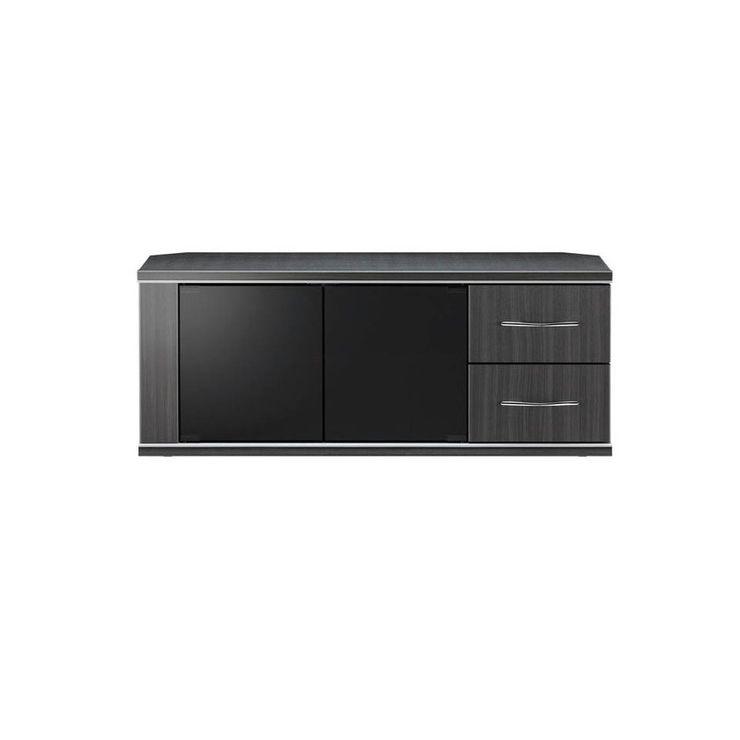 テレビ台 幅96cm 高さ39cm 強化ガラス モダン テレビボード TVボード 収納 収納ボード シンプル(代引不可)【送料無料】