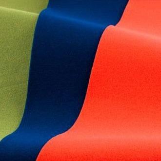 ワタナベ ロールタイプ 毛氈風フェルト(もうせんふうふぇると) 91cm×30m乱 3.5mm厚 MFS-31・朱赤【送料無料】