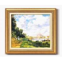 モネ名画額F10号 「アルジャントーユの停泊所」 1757040(代引き不可)【送料無料】
